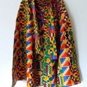 Nice Maxi Long Kente skirt 100% cotton