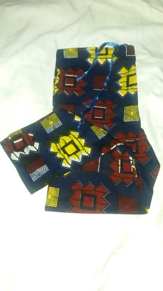 African casual print pant