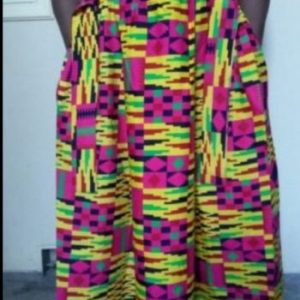 Beautiful 2in 1 Maxi Long skirt 100% cotton Free Size