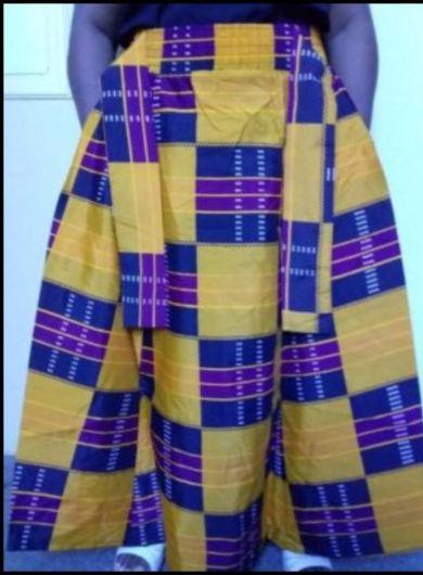 Beautiful 2in 1 Maxi Long skirt 100% cotton Free Size