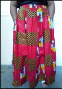 Beautiful Maxi Skirt 100% coton One size Free