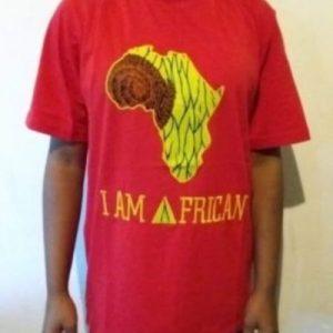 I love Africa t-shirt Sixe L 100%