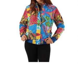 Blue Patchwork Traditional Jacket