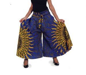 Palazoo Pant Ankara Kitengue trouser