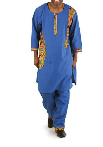 kente-accent-pant-set-blue-free