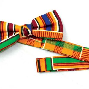 Original kente Bow Tie