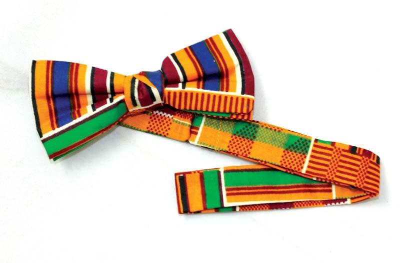 Original kente Bow Tie