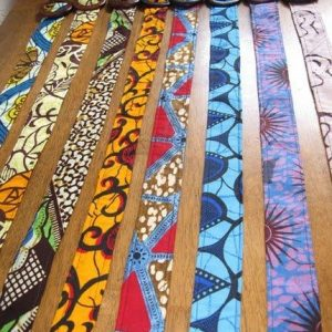Nice african fabric belt