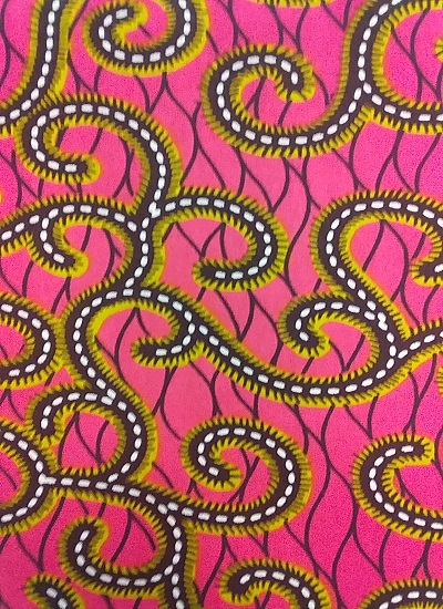 Ankara Wax Print Fabric  6 yard 100%cotton