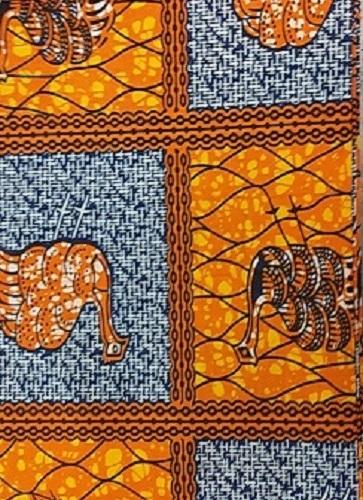 Ankara Wax Print Fabric  6 yard 100%cotton