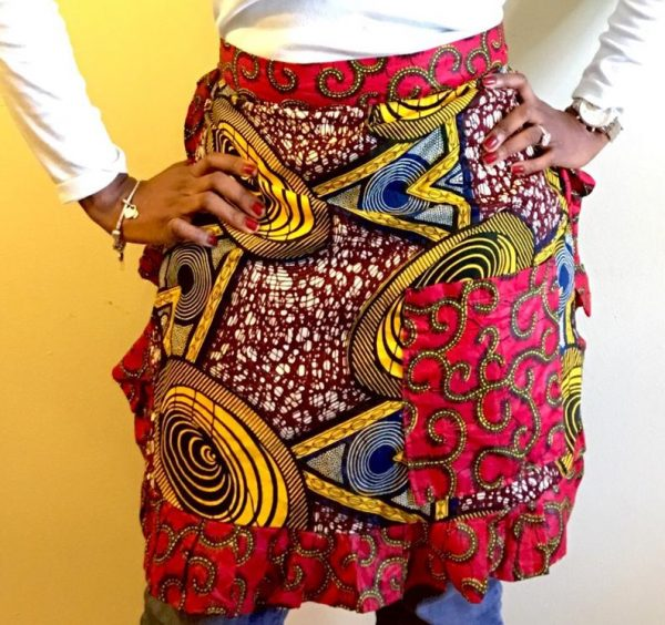 Apron Skirt Orange