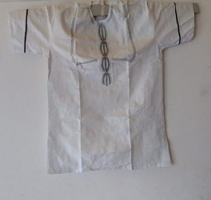 African Traditional shirt for Men White Color XL