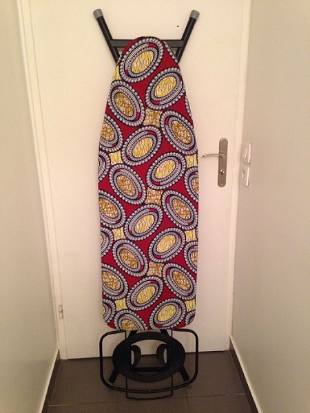 Ironing table clothes made of african wax print