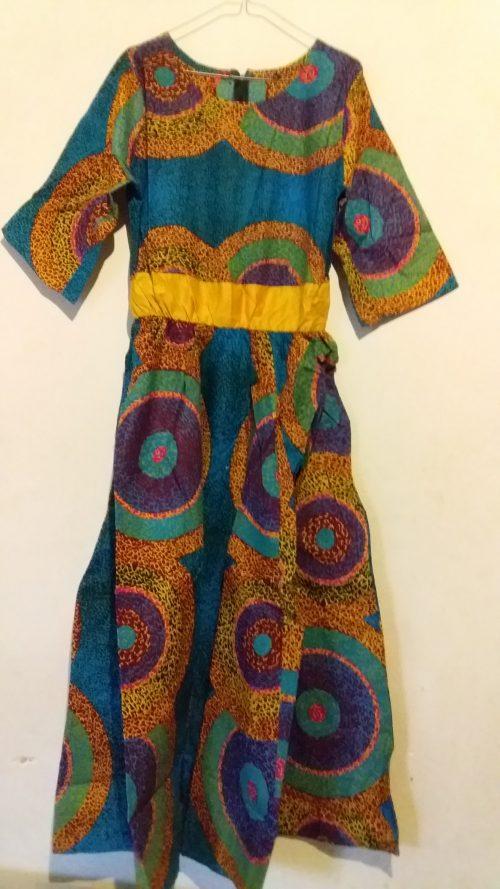 African long Maxi dress kaftan jalaba ankara