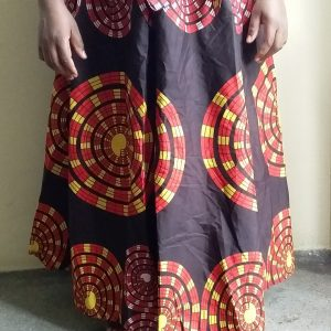 Long Maxi Ankara African Fabric Skirt