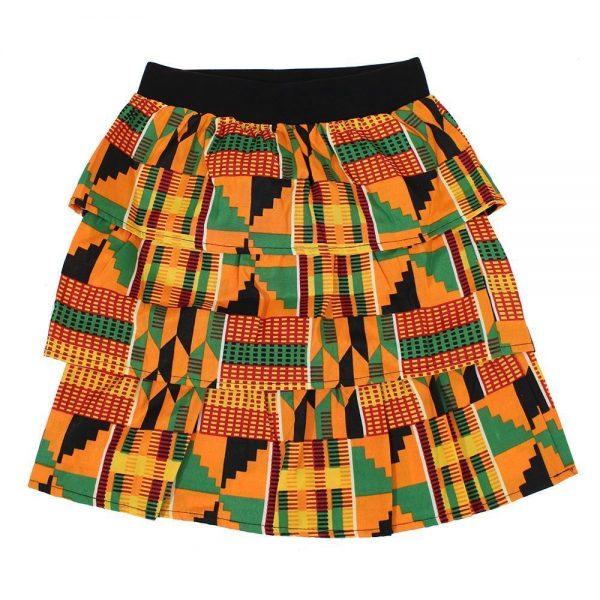 Kente girls skirt