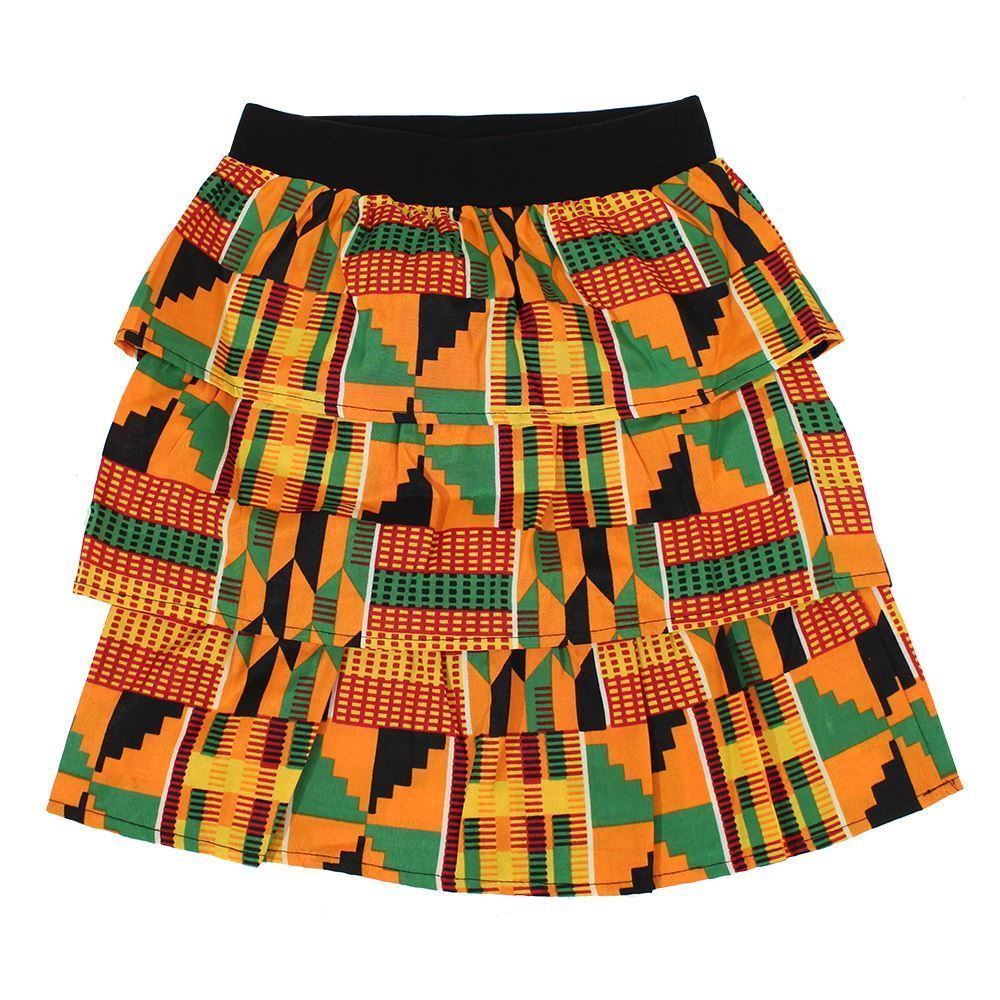 Kente girls skirt