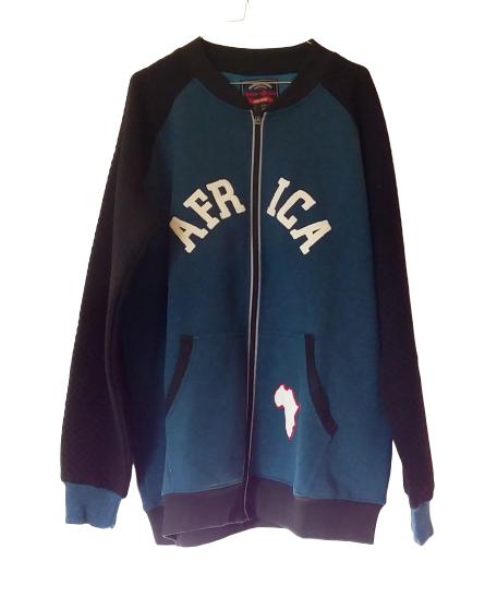 Fleece Jacket Blue black