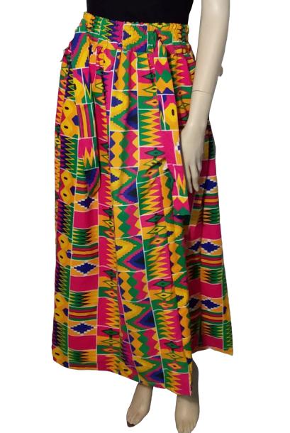 Kente Maxi Skirt