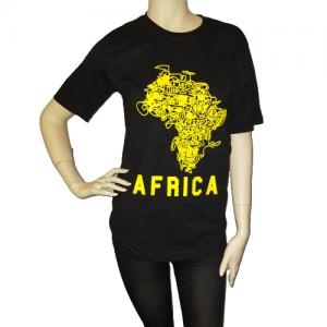 T-shirt-Afrika-black