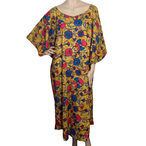 Wax print Kaftan dress