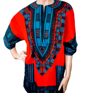 African traditional clothing shirt